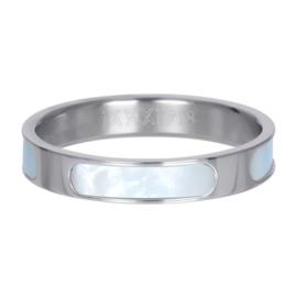 Ring Aruba ; zilverkleurig