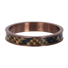 Ring Leopard ; brown