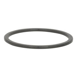 Ring Keramiek 1mm, zwart