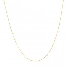 iXXXi 1mm collier 40cm, goudkleur met logo