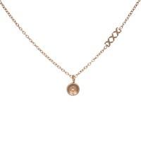 iXXXi Toppart chain collier 50cm, rosé goud