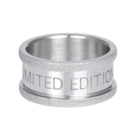 iXXXi basisring Limited Edition 10mm ; zilverkleurig