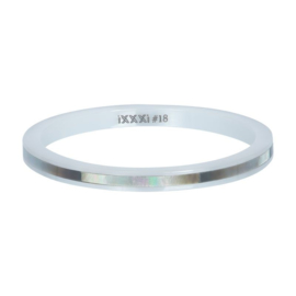 iXXXi ring, Ceramic grey shell