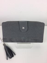 Portemonnee met fotovakje ; grijs