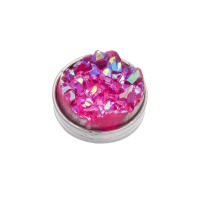 Top part drusy pink