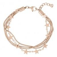 iXXXi armband Snake and  Star ; roségoudkleur
