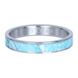 Ring ; blue paradise