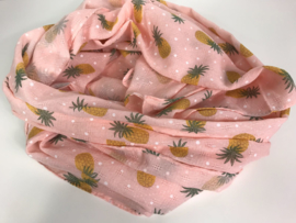 Sjaal ; ananas