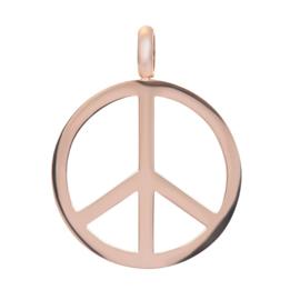 Hanger Peace ; roségoudkleurig