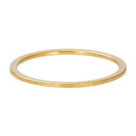 iXXXi Ring Sandblasted ; Goldcolor