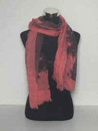 Sjaal koraal rood