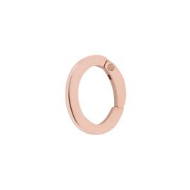 Los oog ; Loop Large ; rosé goldcolor