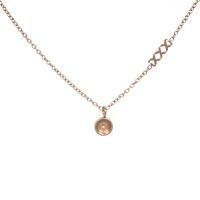 iXXXi Top part chain collier 40cm, rosé goudkleur