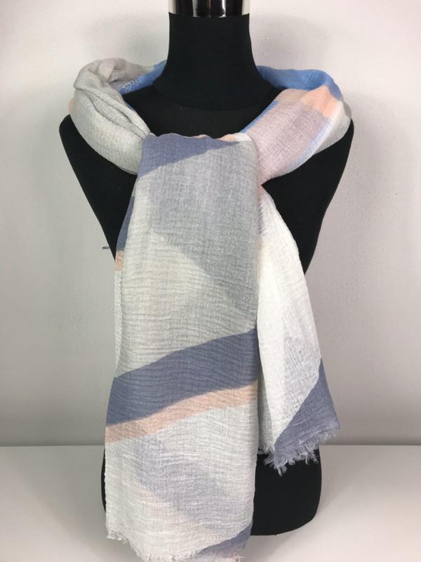 Sjaal ; multicolor