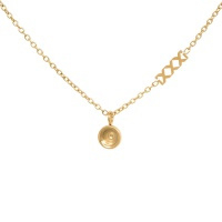iXXXi Top part chain collier 40cm, goudkleur
