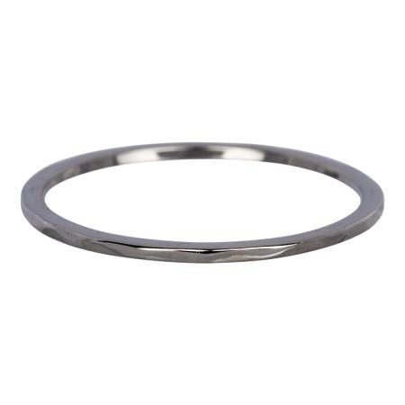 Ring wave antiek zilver
