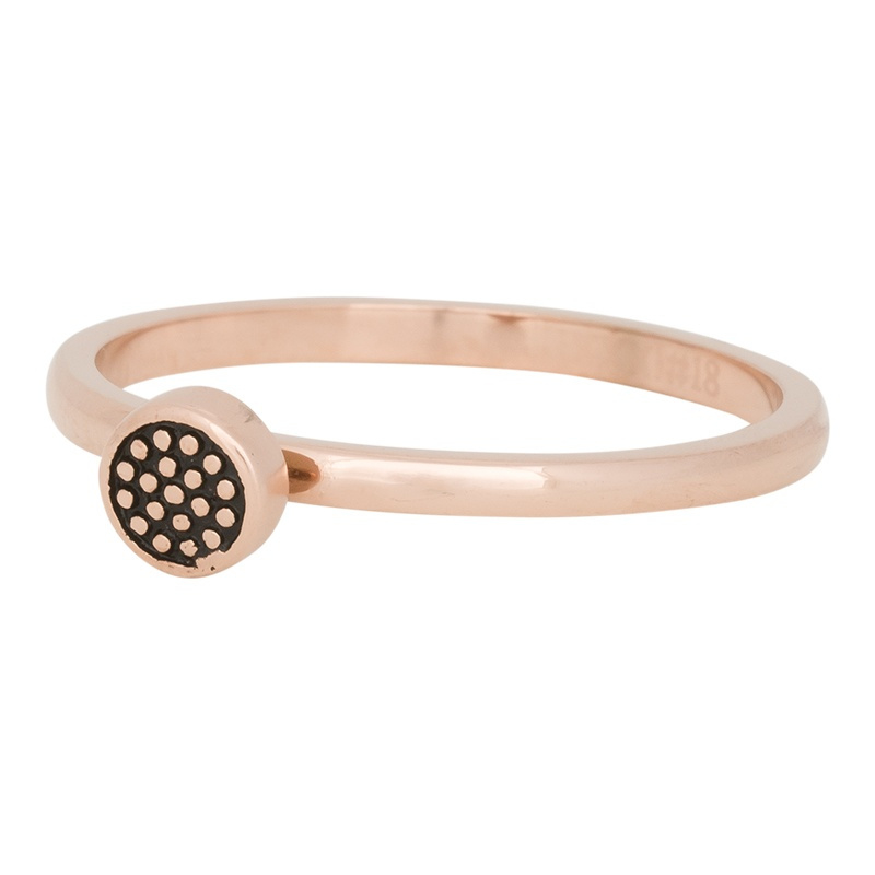 Ring Pin-Cushion ; rosé-goudkleurig