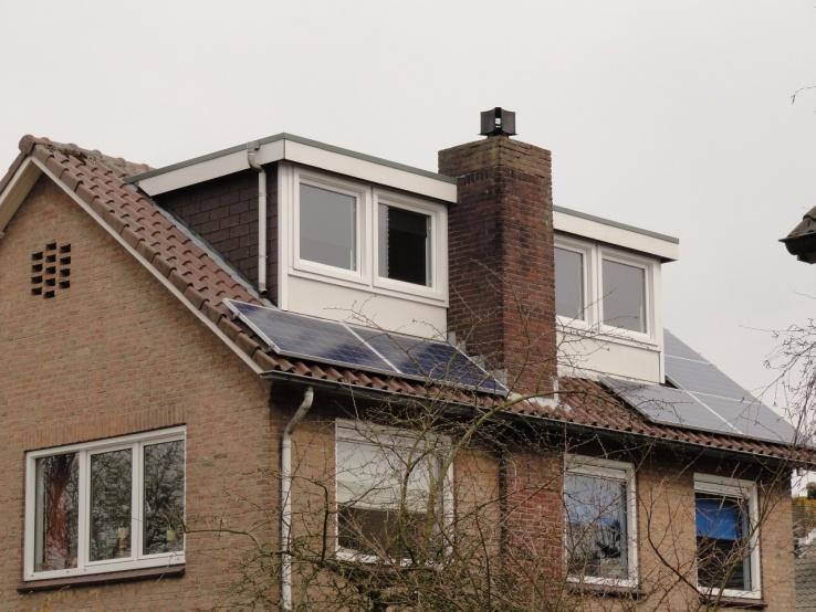 Canadian solar zonnepanelen Geldermalsen