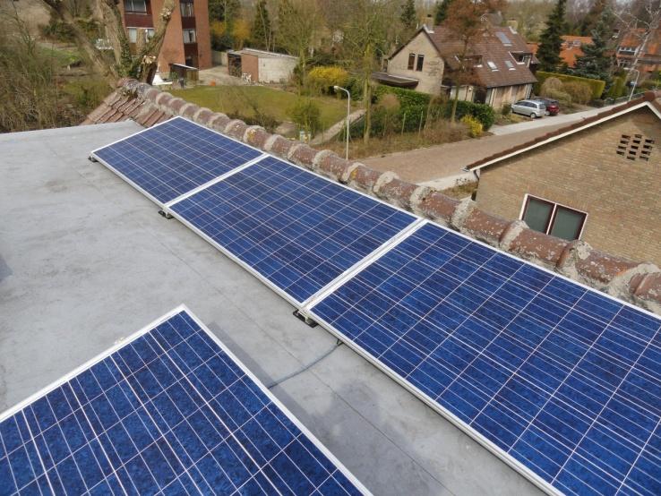 zonne-energie platdak Geldermalsen