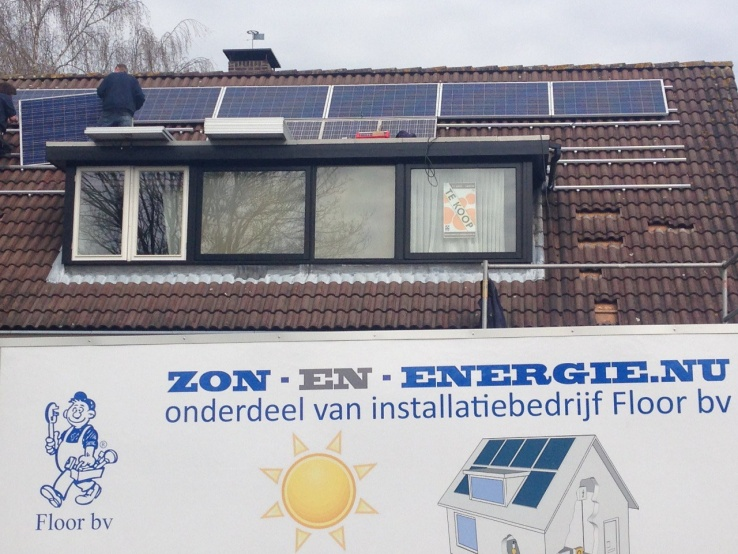 Canadian solar panelen Geldermalsen