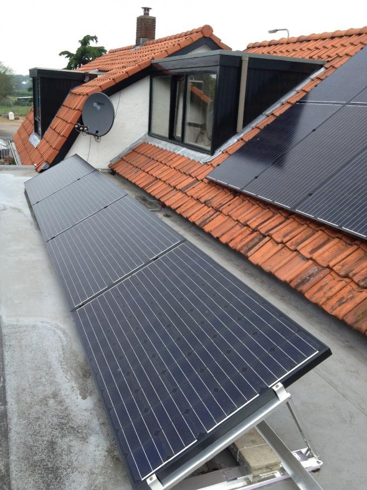 Eging solar panelen Geldermalsen