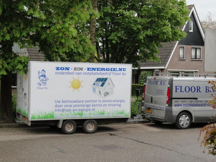 Zon en Energie kar Stationsweg Geldermalsen