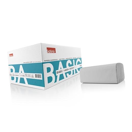 Handdoekpapier zz-vouw 1-laags