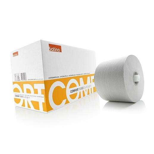 Toiletpapier 1-laags systeemrollen