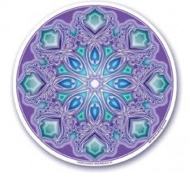 Raamsticker Nirvana Mandala