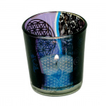 Flower of Life sfeerlicht glas
