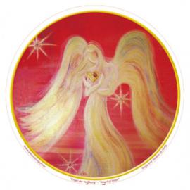 Raamsticker Engel van hoop