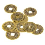 setje van 10 losse munten