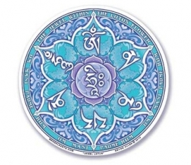 Raamsticker Jewel Lotus