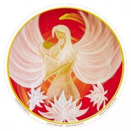 Raamsticker Engel van de Liefde