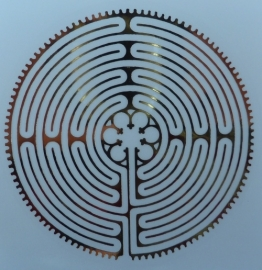 Labyrint stickerset (niet krasvast)