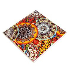 onderzetter mandala (keramiek)