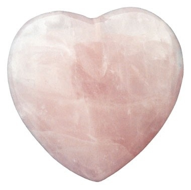 Roze kwarts Hart