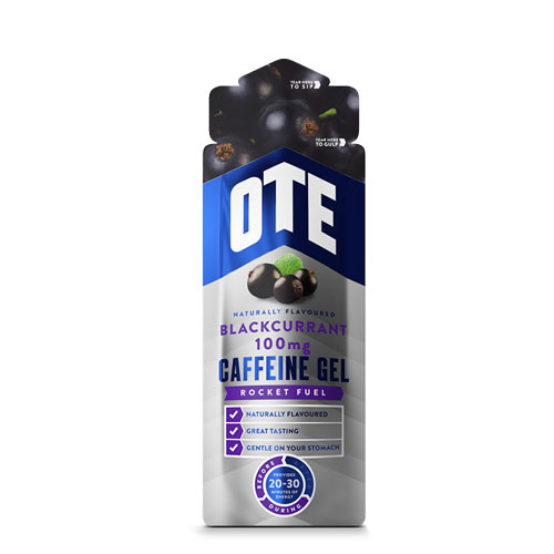 OTE Energy Gel Blackcurrant Caffeine 56g 20x