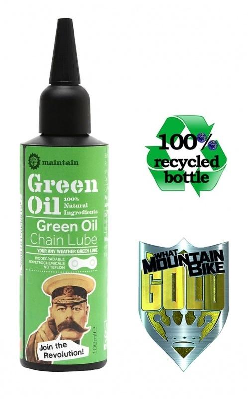 Green Oil Chain Lube 100ml