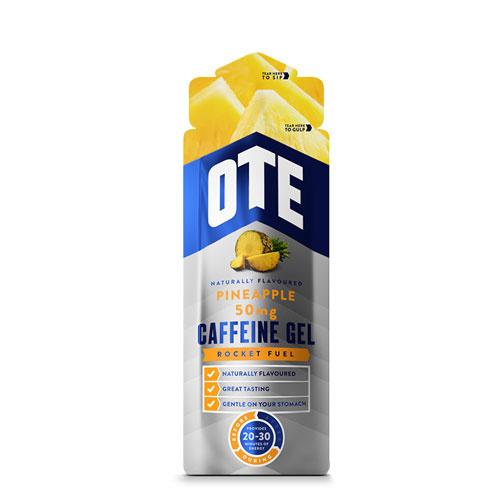 OTE Energy Gel Pineapple Caffeine 56g 20x