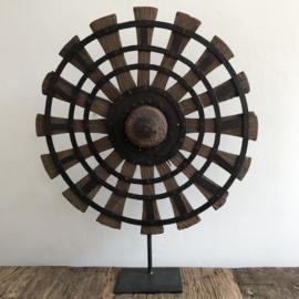 Uniek houten wiel