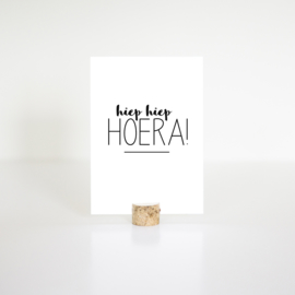 kaart - hoera