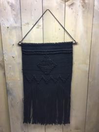 Wandkleed zwart