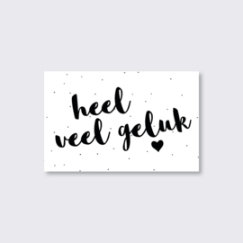 mini cards - geluk