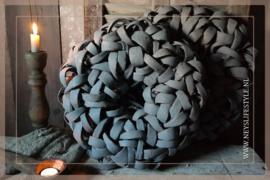 Krans Coco  slice   grey   38cm