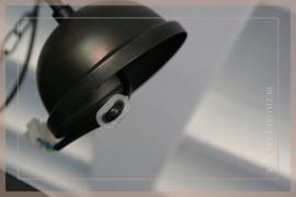 Schijfjeslamp Sober incl fitting  | black S