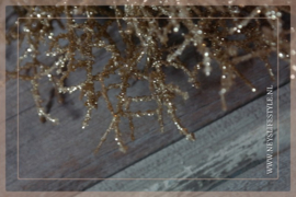Krans | Glitter goud M