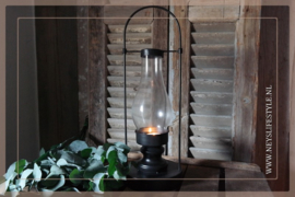 Olielamp waxine | black
