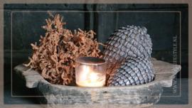Ornament Dennenappel  liggend | M