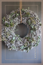 Krans bonsai mos ingedroogd| 60 cm